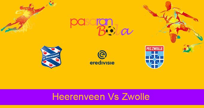 Prediksi Bola Heerenveen Vs Zwolle 24 April 2021