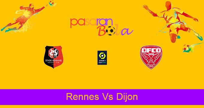 Prediksi Bola Rennes Vs Dijon 25 April 2021