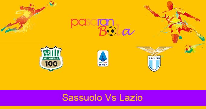 Prediksi Bola Sassuolo Vs Lazio 24 Mei 2021