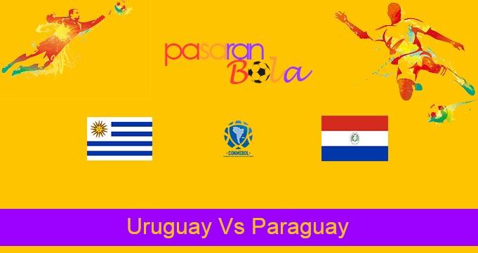 Prediksi Bola Uruguay Vs Paraguay 4 Juni 2021