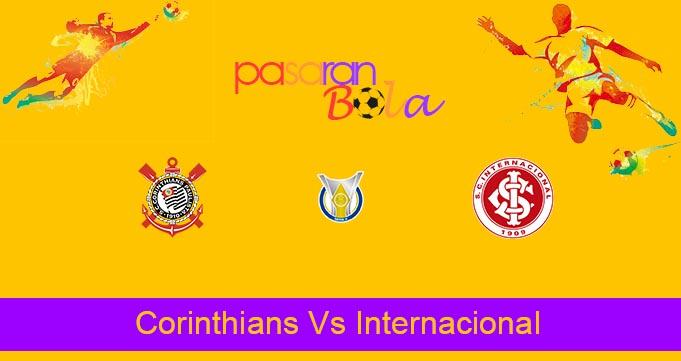 Prediksi Bola Corinthians Vs Internacional 4 Juli 2021