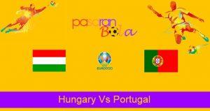 Prediksi Bola Hungary Vs Portugal 15 Juni 2021