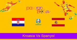 Prediksi Bola Kroasia Vs Spanyol 28 Juni 2021