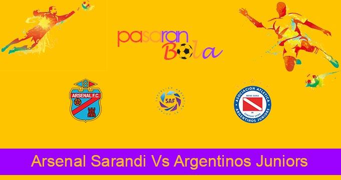Prediksi Bola Arsenal Sarandi Vs Argentinos Juniors 30 Juli 2021