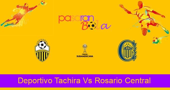 Prediksi Bola Deportivo Tachira Vs Rosario Central 16 Juli 2021