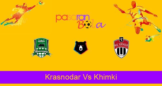 Prediksi Bola Krasnodar Vs Khimki 2 Agustus 2021