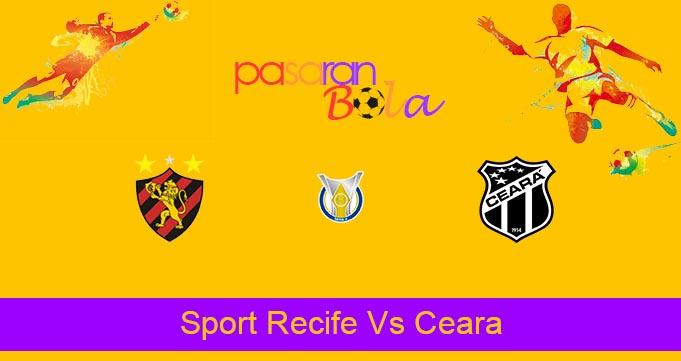 Prediksi Bola Sport Recife Vs Ceara 26 Juli 2021