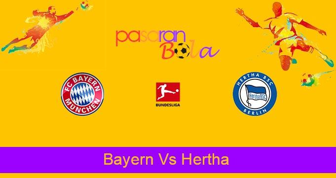 Prediksi Bola Bayern Vs Hertha 28 Agustus 2021
