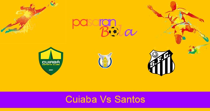 Prediksi Bola Cuiaba Vs Santos 5 September 2021