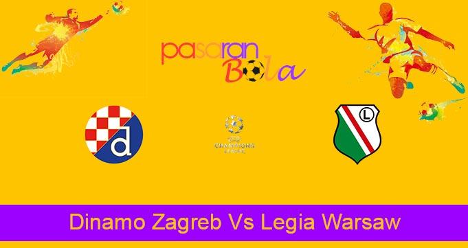 Prediksi Bola Dinamo Zagreb Vs Legia Warsaw 5 Agustus 2021