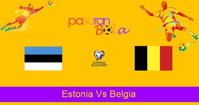 Prediksi Bola Estonia Vs Belgia 3 September 2021