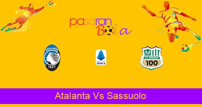 Prediksi Bola Atalanta Vs Sassuolo 22 September 2021