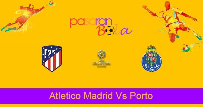 Prediksi Bola Atletico Madrid Vs Porto 16 September 2021
