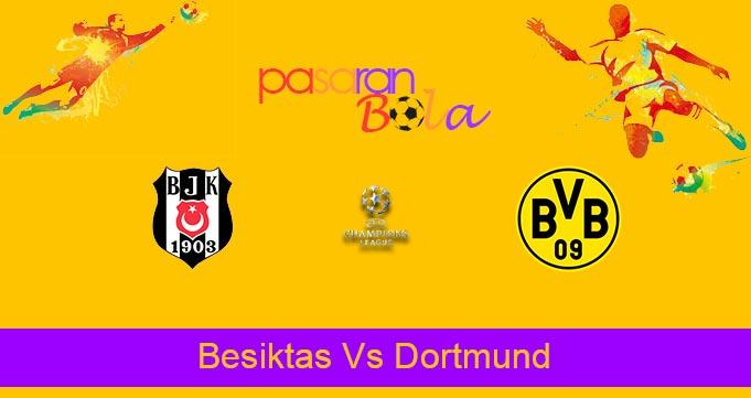Prediksi Bola Besiktas Vs Dortmund 15 September 2021
