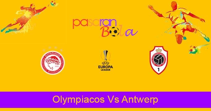 Prediksi Bola Olympiacos Vs Antwerp 17 September 2021