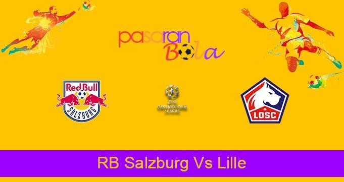 Prediksi Bola RB Salzburg Vs Lille 30 September 2021