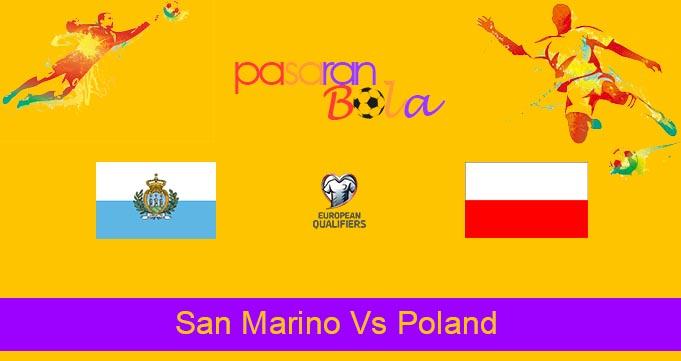 Prediksi Bola San Marino Vs Poland 6 September 2021