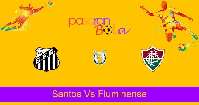 Prediksi Bola Santos Vs Fluminense 4 Oktober 2021