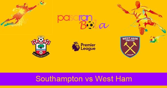 Prediksi Bola Southampton vs West Ham 11 September 2021