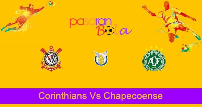 Prediksi Bola Corinthians Vs Chapecoense 2 November 2021