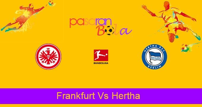 Prediksi Bola Frankfurt Vs Hertha 16 Oktober 2021