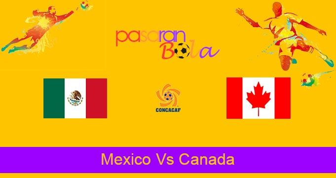 Prediksi Bola Mexico Vs Canada 8 Oktober 2021