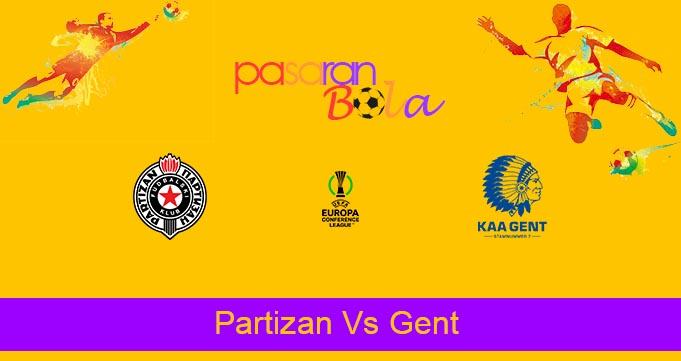 Prediksi Bola Partizan Vs Gent 22 Oktober 2021