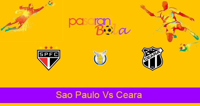Prediksi Bola Sao Paulo Vs Ceara 15 Oktober 2021